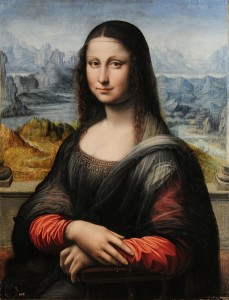 Copy of 'Mona Lisa' ('La Gioconda velata'), Prado Museum, Madrid.