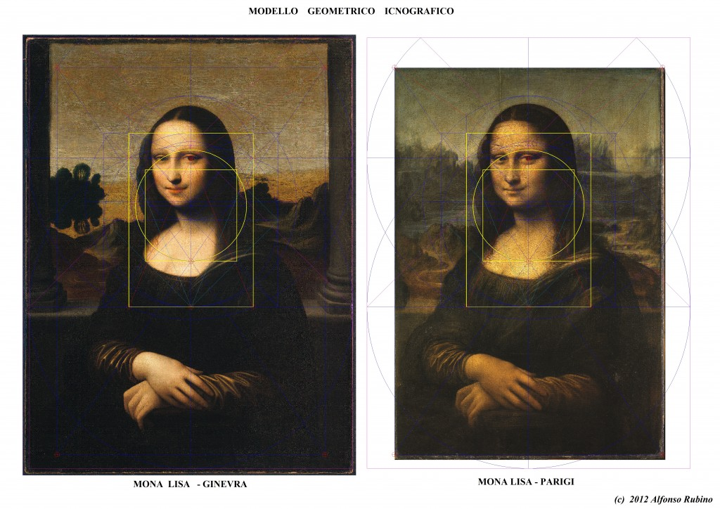 Geometry of Mona Lisa